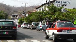 Oaxaca Crucecita Town Mexico 25 Stock Video Footage