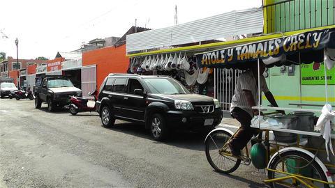 Oaxaca Street Vendor 2 Footage