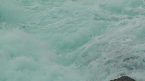 Ocean Waves on Rocky Coast 2 Stock Video Footage