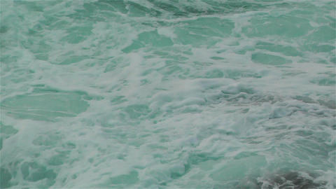 Ocean Waves on Rocky Coast 2 Stock Video Footage