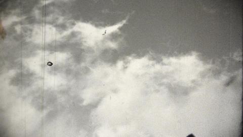 Rocket 3 vintage Stock Video Footage