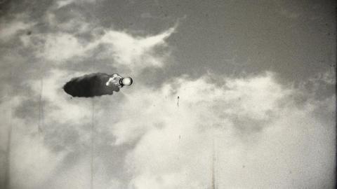 Rocket 3 vintage Animation
