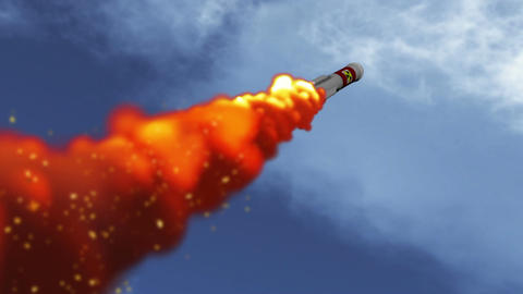 Rocket 5 Stock Video Footage