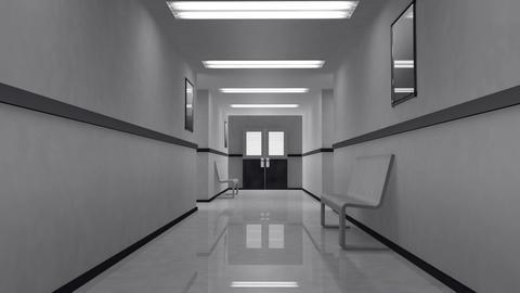 Scary Hospital Corridor 0