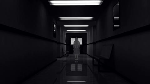 Scary Hospital Corridor 5 yurei Animation
