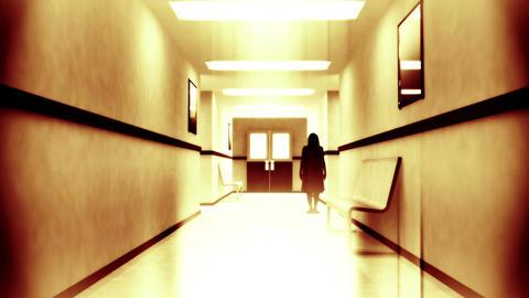 Scary Hospital Corridor Yurei