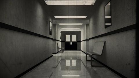 Scary Hospital Corridor 1