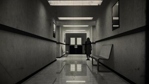 Scary Hospital Corridor Yurei 0