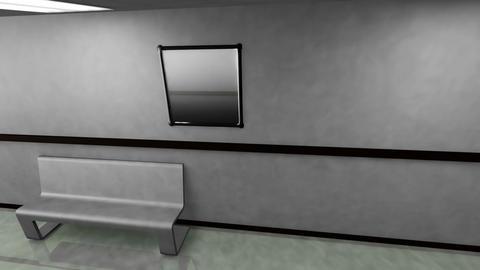 Scary Hospital Corridor v 2 1 Stock Video Footage