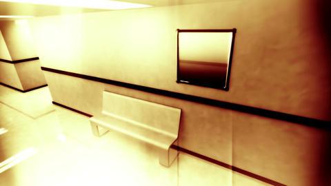 Scary Hospital Corridor v 2 3 Stock Video Footage