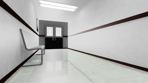 Scary Hospital Corridor v 3 1 Animation