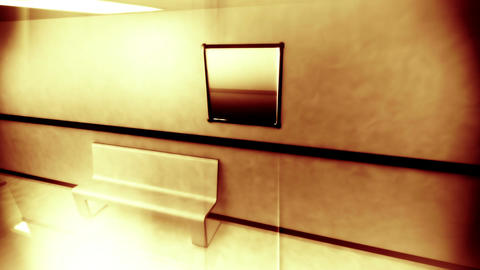 Scary Hospital Corridor Yurei 1 Stock Video Footage