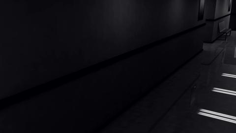 Scary Hospital Corridor Yurei 7 Stock Video Footage