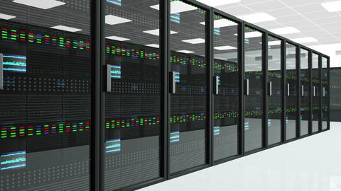 Server Room 3 Stock Video Footage