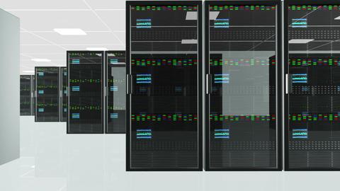 Server Room 5 Footage