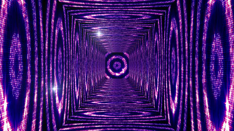 Shining Circles Tunnel 4 Animation