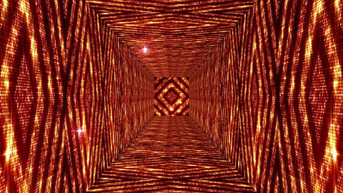 Shining Squares Tunnel 1 Animation