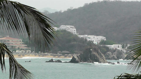 Tropical Paradise in Mexico 7 Stock Video Footage