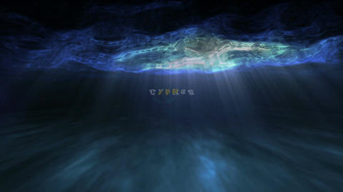 Underwater Cyprus Stock Video Footage