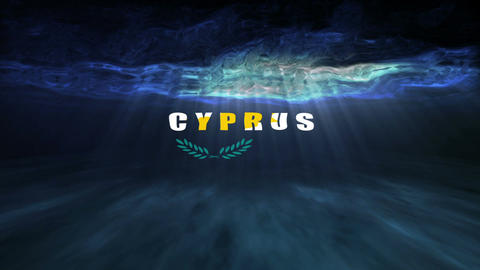 Underwater Cyprus Stock Video Footage