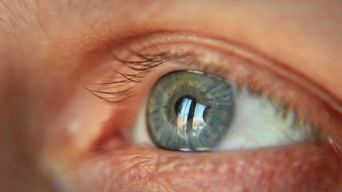 Eye, Selective Focus Stock Video Footage