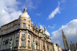 Typical Flemish Architecture in Antwerp Belgium Photo