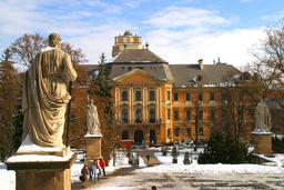 The Baroque Architecture of Eger, Hungary Foto