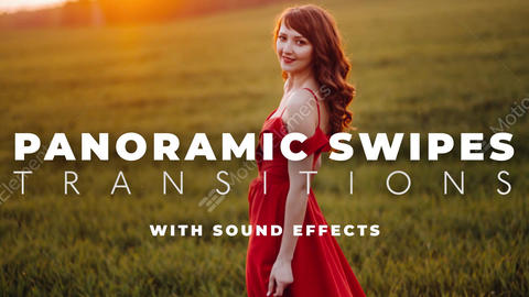 Panoramic Swipes Transitions After Effects Template After Effects Template