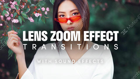 Lens Zoom Effect Transitions After Effects Template After Effects Template
