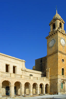 Clock tower, ancient architecture, Malta フォト