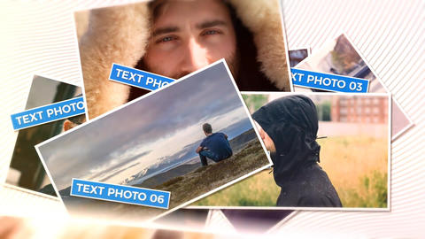 Photo Drop After Effects Template