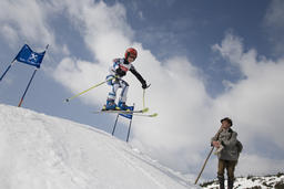 skiing - traditional and modern Photo