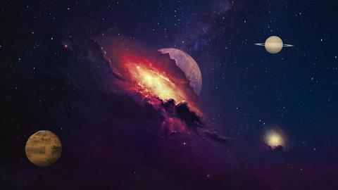 Planets Animation