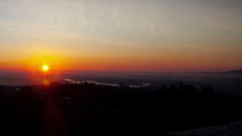 Sunrise, Time Lapse Stock Video Footage