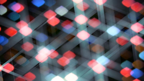 Colorful abstract stars Stock Video Footage