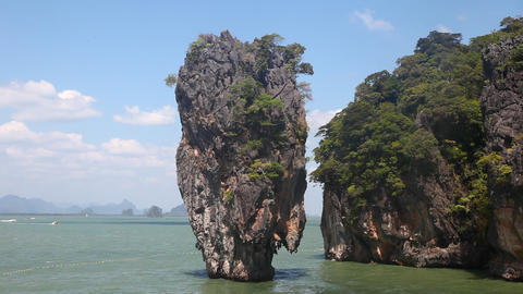James Bond Island Stock Video Footage