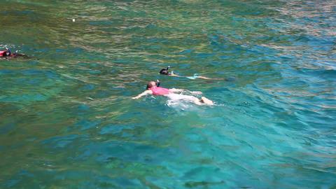 Snorkeling Footage