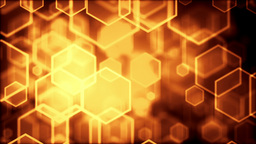 High Quality Digital Background Animation, Gold Version stock footage