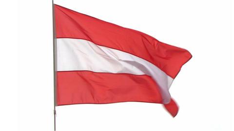 flag Austria Footage