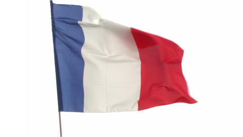 flag France Stock Video Footage
