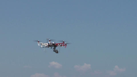 quadcopter 01 Stock Video Footage