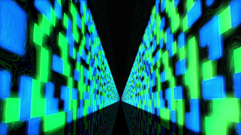 Futuristic Data Center 1 Stock Video Footage