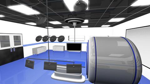 Operation Room MRI CT Machine 24 Stock Video Footage