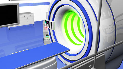 Operation Room MRI CT Machine 28 Animation