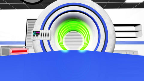 Operation Room MRI CT Machine 30 Stock Video Footage