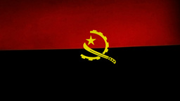 Angola flag Animation