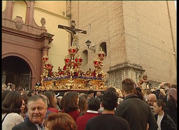 Procession in spanish holy week 2 Footage