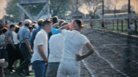 Track And Field Activities 1962 Vintage 8mm film Stock Video Footage