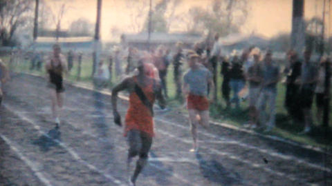 Track And Field Activities 1962 Vintage 8mm film Footage