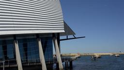 Western Australian Maritime Museum in Fremantle Stock Video Footage